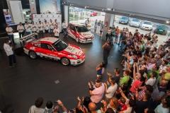 019 Presentación Porsche 2010 Ares Racing 021